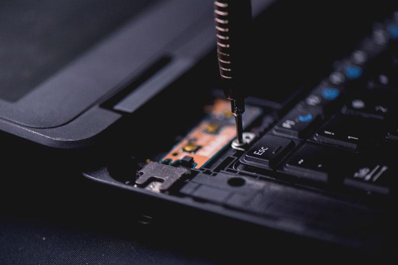 Réparation d'ordinateurs et pièces détachées